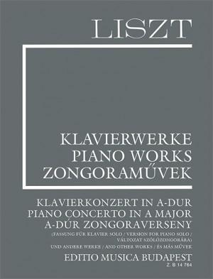 Liszt: Piano Concerto in A major (Version for piano solo) Product Image