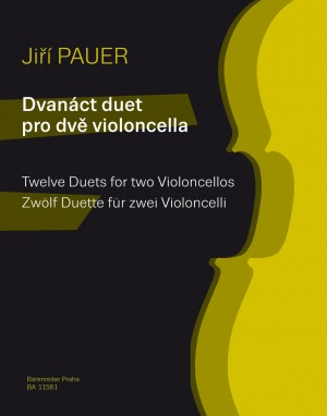 Pauer, Jirí: Twelve Duets for two Violoncellos Product Image