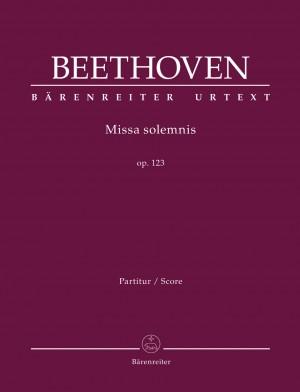 Beethoven, Ludwig van: Missa solemnis op. 123 Product Image