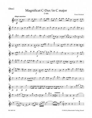Schubert, Franz: Magnificat in C major D 486