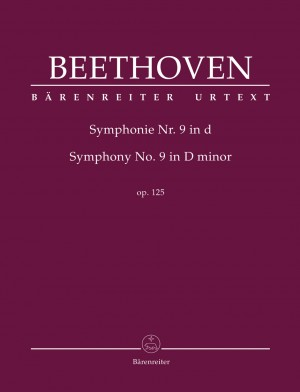 Beethoven, Ludwig van: Symphony no. 9 in D minor op. 125 (Hardback Full Score) Product Image