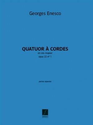 Georges Enesco: Quatuor en mi bémol, opus 22 n° 1