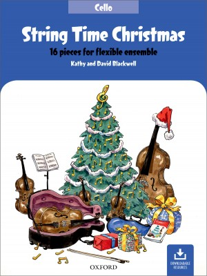 String Time Christmas: Cello Book Product Image
