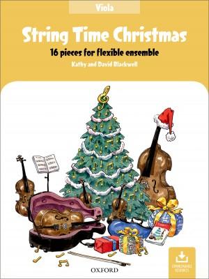String Time Christmas: Viola Book