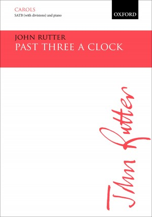 Rutter: Past three a clock Product Image