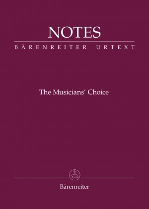 """Bärenreiter Notes """"The Musician's Choice"""" Product Image"""