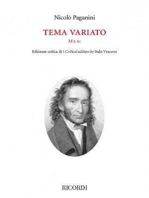 Nicolò Paganini: Tema variato M.S. 82