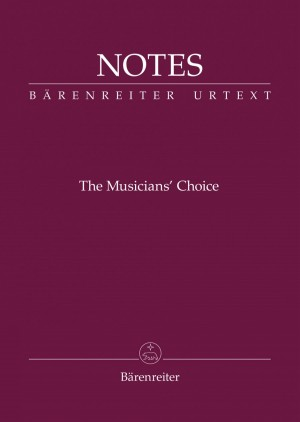 """Bärenreiter Notes """"The Musician's Choice"""" (Pack of 10) Product Image"""