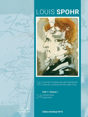 Spohr: 36 Duos for 2 Violins from the Violin Tutor Volume 1
