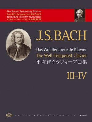 Bach, Johann Sebastian: The Well-Tempered Clavier III-IV Product Image