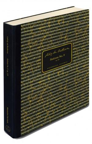 Beethoven, Ludwig van: Symphony no. 9 in D minor op. 125 (Facsimile)