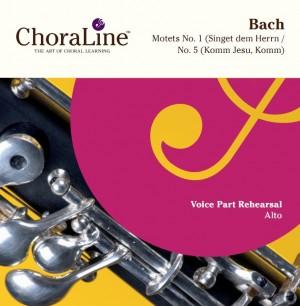 Bach, JS: Motets No. 1(Singet dem Herrn/No. 5 (Komm Jesu, Komm)
