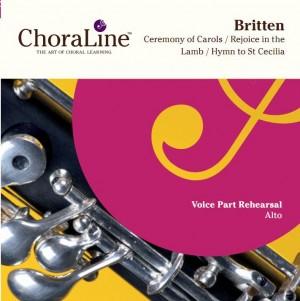 Britten: Ceremony of Carols / Rejoice in the Lamb / Hymn to St Cecilia