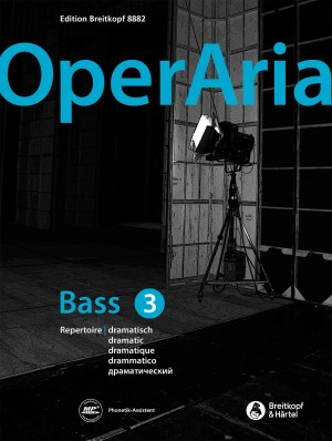 OperAria Bass Volume 3: dramatic Product Image