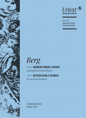 Berg, Alban: 7 frühe Lieder