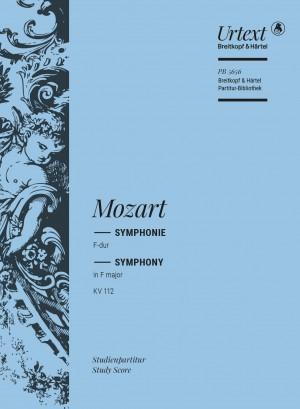 Mozart: Symphony [No. 13] in F major K. 112