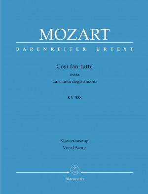 Mozart: Così fan tutte ossia La scuola degli amanti K. 588 Product Image