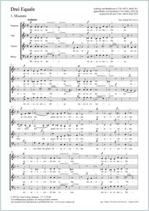 Beethoven: Drei Equale op. WoO 30