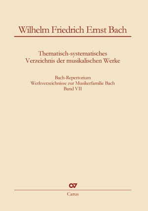 Bach: Thematic-systematic Catalog of the Musical Works