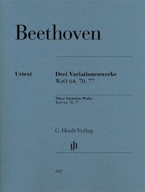 Beethoven, L v: 3 Variation Works WoO 70, 64, 77 Product Image