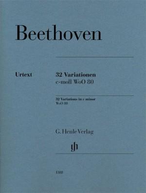 Beethoven, L v: 32 Variations c minor WoO 80 Product Image