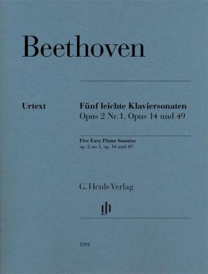 Beethoven, L v: Five Famous Piano Sonatas Product Image