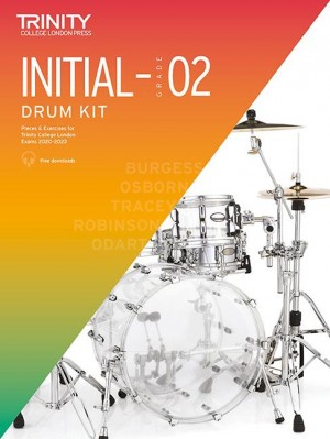 Trinity College Drum Kit 2020-2023 Initial-Grade 2 Product Image