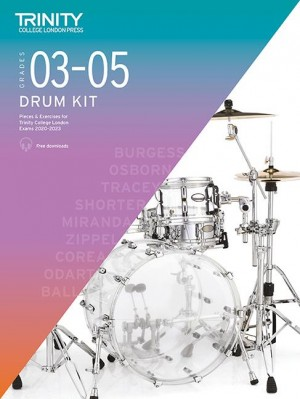 Trinity College Drum Kit 2020-2023 Grades 3-5 Product Image