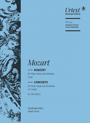 Mozart: Concerto in C major for flute and harp, K. 299 (297c) Product Image