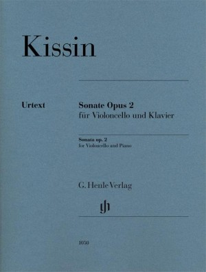 Evgeny Kissin: Sonata for Violoncello and Piano Op. 2 Product Image