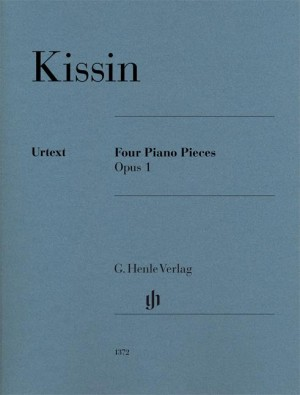 Evgeny Kissin: Four Piano Pieces Op. 1 Product Image