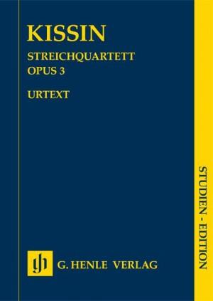 Evgeny Kissin: String Quartet Op. 3 Product Image