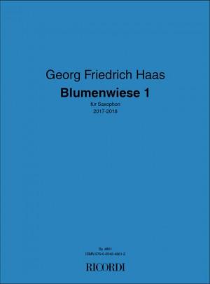 Georg Friedrich Haas: Blumenwiese 1