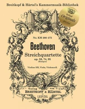 Ludwig van Beethoven: String Quartets Op. 59, Op. 74, and Op. 95 Product Image