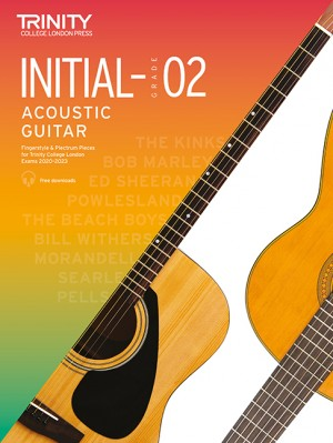 Trinity College London Acoustic Guitar Initial-Grade 2 2020-2023 Product Image
