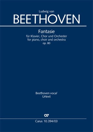 Beethoven: Fantasia for piano, choir and orchestra in C minor, Op. 80