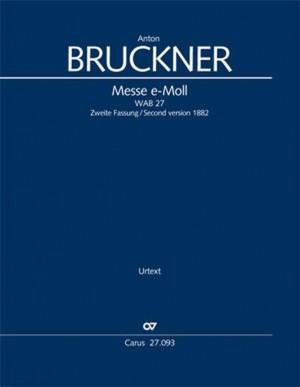 Bruckner: Mass in E minor, WAB 27 (2nd version 1882) Product Image