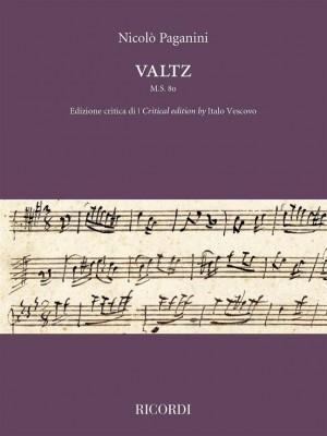 Nicolò Paganini: Valtz M.S. 80