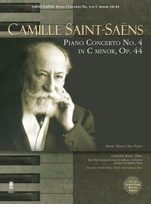 Camille Saint-Saens: Piano Concerto No. 4 In C Minor, Op.44 (Book/CD)