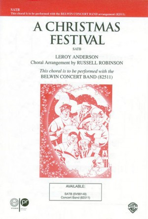 Leroy Anderson: A Christmas Festival SATB