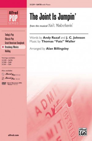 """Thomas """"Fats"""" Waller: The Joint Is Jumpin' (from the musical Ain't Misbehavin') SATB"""