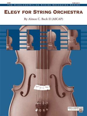 Almon C. Bock II: Elegy for String Orchestra