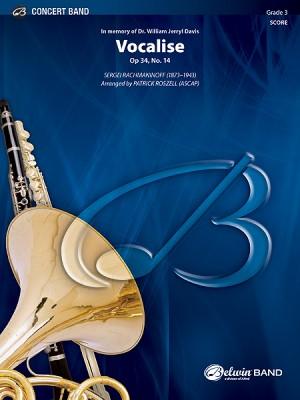Sergei Rachmaninov: Vocalise, Op. 34, No. 14