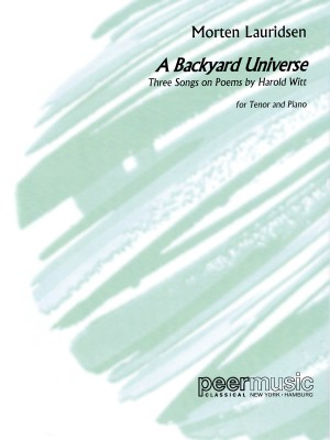 Morten Lauridsen: A Backyard Universe Product Image