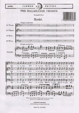 Handel Messiah Hallelujah Chorus Page 1 Of 22 Presto Sheet Music