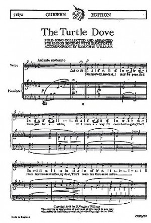 Ralph Vaughan Williams: The Turtle Dove