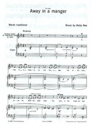 Betty Roe: Away In A Manger