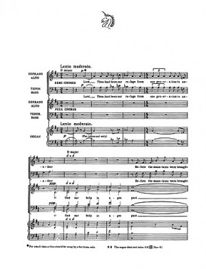 Ralph Vaughan Williams: Lord, Thou Hast Been Our Refuge (SSAATTBB/Organ)