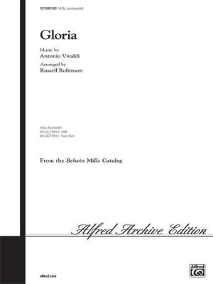 Antonio Vivaldi: Gloria SATB