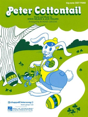 Peter Cottontail (big note piano)
